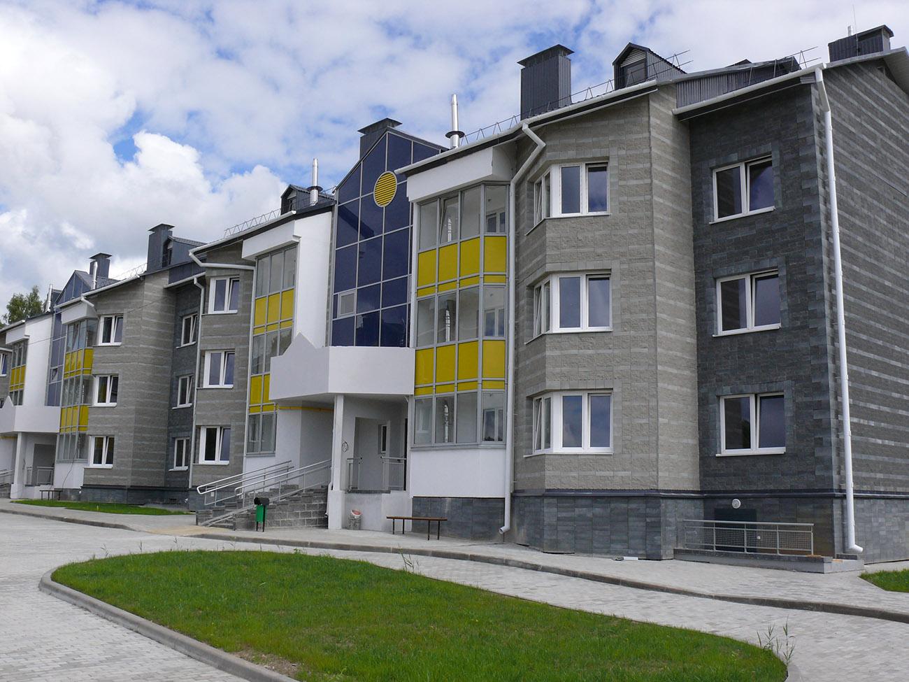 Остекление многоквартирного дома №1.3